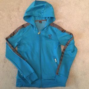 Tna Blue Zipup Track Jacket